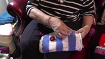 Appeal to knitters to make and donate twiddle muffs for dementia patients
