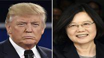 'ताइवानी राष्ट्रपति से बात करना अमरीका के लिए अप्रत्याशित'