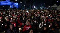 احتجاجات في كوريا الجنوبية تطالب بعزل الرئيسة
