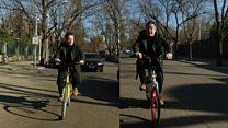 China's hi-tech bike hire startups