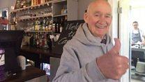 'Bored to death' pensioner Joe Bartley starts job