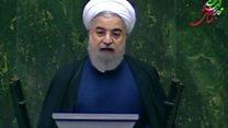انتقاد روحانی از کنگره آمریکا برای تمدید تحریمهای ده ساله ایران