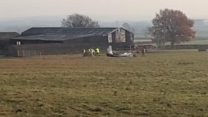 Glider wreckage removed