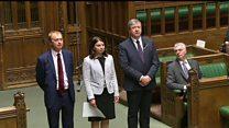 New Lib Dem MP Sarah Olney sworn into Commons