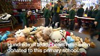 School swamped by teddy donations