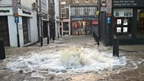 Watch: Flooding in Islington