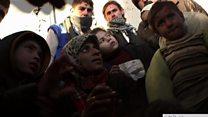 د حلب کډوال، حکومت وايي د دغه ښار له نيمايي ډېره برخه يې نيولې