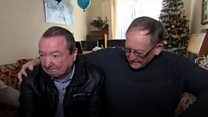 Family reunited after brother's dying wish