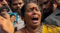 Tamils mourn dead leader Jayalalitha