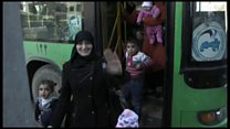 Лояльные Асаду семьи возвращаются в Алеппо