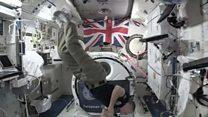 نمایش کپسول فضایی در لندن