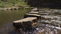 Dovedale stepping stones out of action