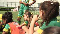 ဘရာဇီးနို်ငငံက အမျိုးသမီး ဘောလုံးသမားတွေရဲ့ဘဝ