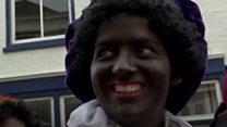 「ブラック・ピート」の顔色が変わる オランダ