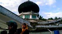 इंडोनेशिया: भूकंप के कई इमारतें गिरीं
