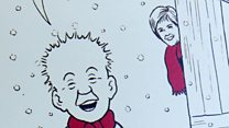 FM puts Oor Wullie on her Christmas card
