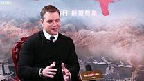 视频:达蒙为《长城》角色辩护,不是白人至上
