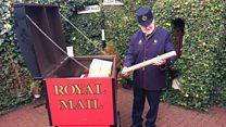 Rare Victorian post cart restored