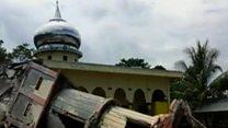 انڈونیشیا میں زلزلہ، سو ہلاک