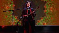 اجرای موسیقی سپیده رئیس سادات  در ایتودیوی بی بی سی