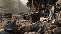 အလက်ပိုမြို့မှာ အပစ်ရပ်ဖို့ တိုက်တွန်းမှုတွေရှိ