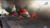 غیرنظامیان گرفتار بین آتش نیروهای عراقی و داعش