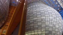 Brussels' unveils €321m 'Space Egg' HQ