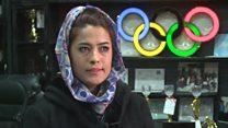 پای صحبت فروزان هادی عضو تیم ملی والیبال افغانستان