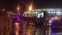 Istanbul Besiktas stadium hit by explosion