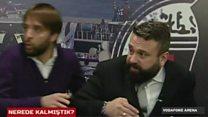 Istanbul blast captured on Besiktas TV