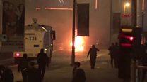 Vodafone Arena Stadı önünde bombalı saldırı