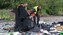 Fly-tipping clean-up costs £2.1m