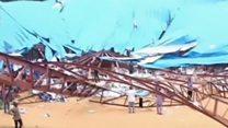 หลังคาโบสถ์ถล่มในไนจีเรีย มีผู้เสียชีวิตจำนวนมาก