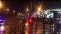 İstanbulda stadion yaxınlığında partlayış