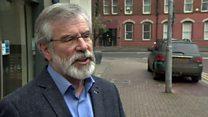 Adams defends IRA sources comments
