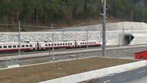 สวิตเซอร์แลนด์เริ่มเปิดใช้งานอุโมงค์รถไฟยาวและลึกที่สุดในโลกอย่างเต็มรูปแบบ