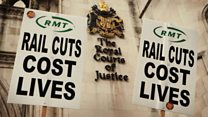 RMT: Members are striking to keep the railway safe