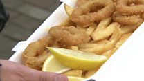 Would you eat squid and chips?