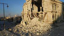 قلعة حلب .. تاريخ  في مهب الحرب