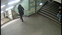 Tấn công trong ga tàu điện ngầm ở Berlin