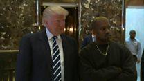 'Just friends' - Trump hosts Kanye West