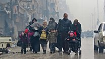 La desesperada situación de los civiles atrapados en el este de Alepo