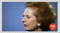 Power List 2016: Margaret Thatcher