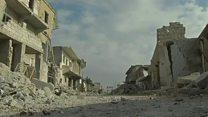 ملګري ملتونه وايي حکومتي پلوه ځواکونو حلب کې ملکيان وژلي