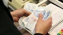 کاهش بیست درصدی ارزش پول ترکیه
