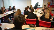 Schools are at 'breaking point'
