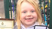 Girl, six, calls 999 after mum collapses
