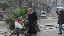 آتش بس حلب چند ساعتی بیشتر دوام نیاورد