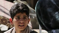 'I wanted to fly and escape Yemen bombing'