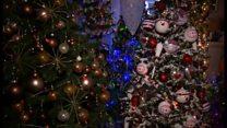 「クリスマスが大好き」 家にはツリーが100本 ドイツの夫婦